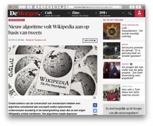 wikipedia-vullen-de-morgen